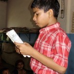 Reciting a poem in Savarsai