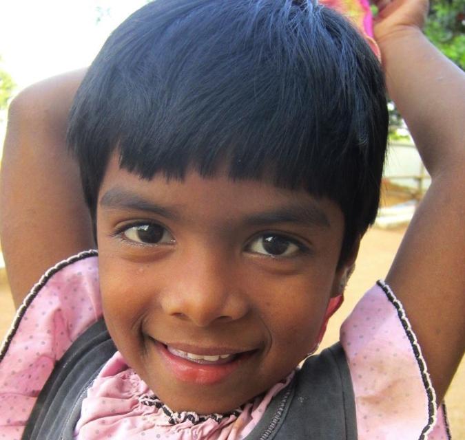Akshaya - what a sweetie.