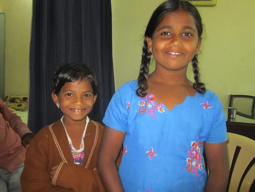 Sravanphi and Pooja.