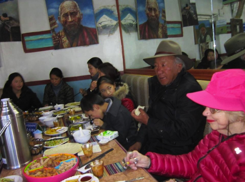 Lunch at Tashi 1. Check out the size of that thermos.