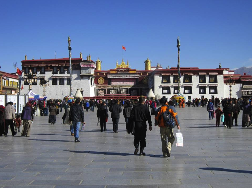 The Jokhang Temple.